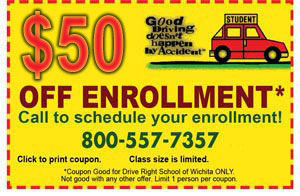 $50 off enrollment coupon